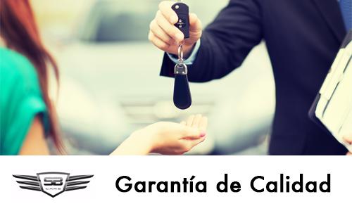 Garantía de Calidad - SB Cars